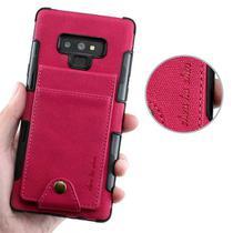 Capa Carteira 3.0 Samsung Galaxy S9 Plus - Vermelho - Oem