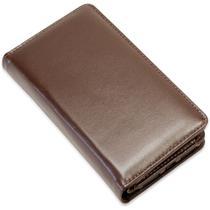 Capa carteira couro lui marrom samsung s8 plus g955 - Cellway