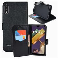 Capa Carteira Flip Antishock Porta Cartão LG K22 / LG K22+ Plus - DV
