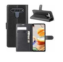 Capa Carteira Flip Antishock (PRETA) Porta Cartão P/ LG K51S - DV