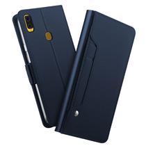 Capa Carteira Luxury Samsung Galaxy S10 Plus - Azul - Oem