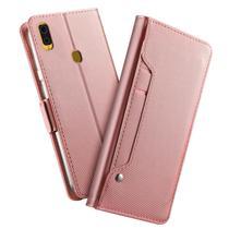 Capa Carteira Luxury Samsung Galaxy S10 Plus - Rosa - Oem