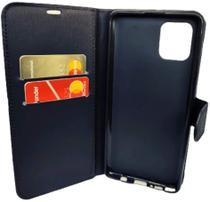 Capa Carteira (PRETA) Flip Antishock Porta Cartão P/ Samsung Galaxy A31 - Dv Acessorios