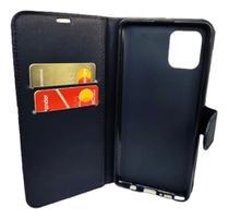 Capa Carteira (PRETA) Flip Antishock Porta Cartão P/ Samsung Galaxy S10 LITE - 6.7 POLEGADAS - Dv Acessorios