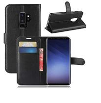 Capa Carteira (PRETA) Flip Antishock Porta Cartão P/ Samsung Galaxy S9+ Plus G965 - Dv Acessorios