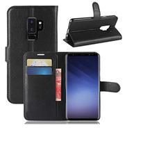 Capa Carteira (PRETA) Flip Antishock Porta Cartão P/ Samsung Galaxy S9+ Plus G965 - Dvacessorios