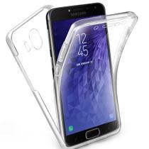 Capa Case 360 Graus Frente Verso Samsung J4 Plus - Transparente - Encapar