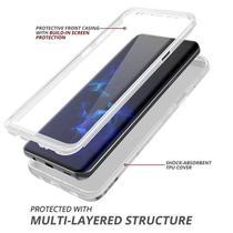 Capa Case 360º Silicone Tpu Luxo Para Samsung Galaxy S9+ Plus G965 6.2 polegadas - Dv Acessorios