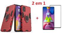 Capa Case Ant Impacto Anel Samsung Galaxy M51 + Película 21D - M7