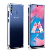 Capa Case Anti Impacto em silicone transparente para Samsung A60 Antishock - Hrebos