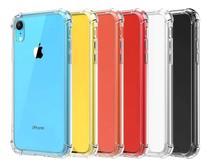 Capa Case Anti Impacto para Apple iPhone XR - Transparente - Hrebos