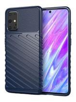 Capa Case Anti Impacto Premium Galaxy A71 + Pelicula de Vidro 9D - Cobre Toda Tela - Auto Focus