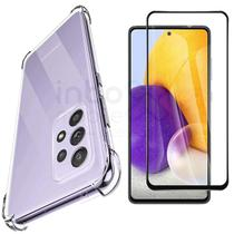 Capa Case Anti Impacto Samsung Galaxy A72 + Pelicula 3D 6.5 - Inboxmobile
