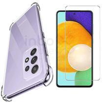 Capa Case Anti Impacto Samsung Galaxy A72 + Pelicula D Vidro - Inboxmobile