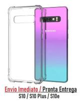 Capa Case Anti Impacto Transparente Galaxy S10 S10 Plus S10e - Hrebos