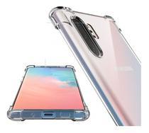 Capa Case Anti Shock + Película Nano Gel Samsung Note 10+ Plus Tela toda Full Bordas - Pix Prime