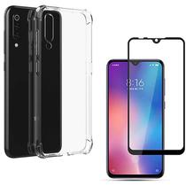 Capa Case Anti Shock Xiaomi Mi 9 Se + Película Vidro 3D Cobertura Total - Fit.it