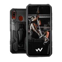 Capa Case Armor Magnética Clip Anti Impacto  Para Samsung Galaxy A20 e A30 -