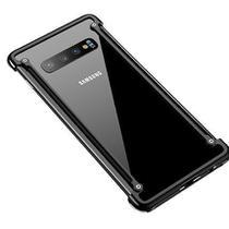 Capa Case Bumper Metal Samsung Galaxy S10e - Preto - Oem