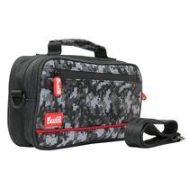 Capa Case Camuflagem Bolsa Acessórios Para Nintendo Switch e Switch Lite Preto - Ipega