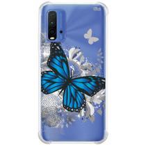 Capa case capinha p/ mi 9t 2021 (0351) borboleta - Quarkcase