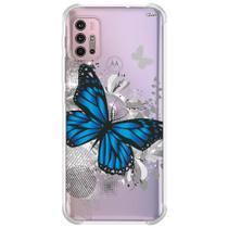 Capa case capinha p/ moto g30 (0351) borboleta - Quarkcase