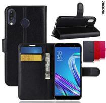 Capa Case Carteira Flip Asus Zenfone Max Pro M1 Zb602kl - PRETO -