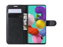 Capa Case Carteira Flip Cover Preta Samsung A71 Sm-a715 - Ss / Exploiter