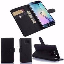 Capa Case Carteira Preta para Samsung Galaxy S7  com Fecho Magnético - Pixprime