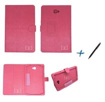 Capa Case Galaxy Tab A Note - 10.1 P580 / P585 Carteira / Caneta Touch (Pink) - Skin t18