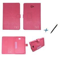 Capa Case Galaxy Tab A Note - 10.1 T580 / T585 Carteira / Caneta Touch (Pink) - Bd Cases