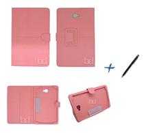Capa Case Galaxy Tab A Note - 10.1 T580 / T585 Carteira / Caneta Touch (Rosa) - Skin t18