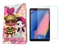 Capa Case Infantil para Tablet Samsung Galaxy Sm-t290/t295 + Película de Vidro 8 Polegadas - Fam