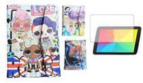 Capa Case Infantil + Película de Vidro para Tablet M7s Go e M7s Lite - Fecho Magnético