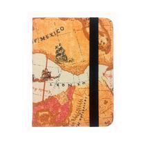 Capa Case Kindle Paperwhite 7th 2016 (on/off) - Mapa Tecido - Ksk Cases