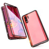 Capa Case Magnética Blindada Huawei P30 Lite - Vermelho - Oem