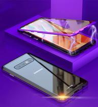 Capa Case Magnética Blindada Samsung Galaxy S10 Plus - Preto - Oem