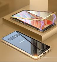 Capa Case Magnética Blindada Samsung Galaxy S10 Plus - Roxo - Oem