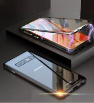 Capa Case Magnética Blindada Samsung Galaxy S10 Plus - Vermelho - Oem