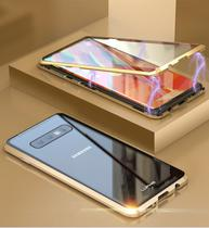 Capa Case Magnética Blindada Samsung Galaxy S9 - Roxo - Oem