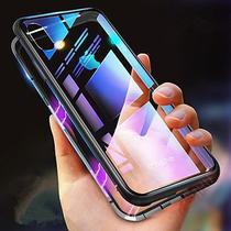Capa Case Magnético Anti Impacto iPhone 7 Plus + Película Protetora de Vidro - New Case