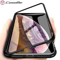 Capa Case Magnético Anti Impacto iPhone 8 Plus - Preto - Oem