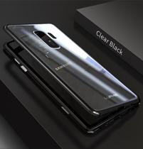 Capa Case Magnético Anti Impacto Samsung Galaxy S9 - Prata - Oem