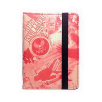 Capa Case Novo Kindle (básico) 10ª Geração Auto Hibernação - Moto Vermelha - Ksk Cases