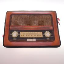 Capa Case P/ Laptop Radio Retro - Maisaz