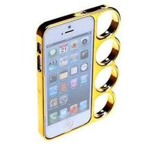 Capa Case para iPhone 5 Soco INGLES Dourado - X-cell