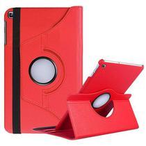 Capa Case para Tablet Giratória Samsung SM T290 T295 + Película de Vidro 8 Polegadas - Fam