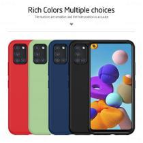 Capa Case Premium Silicone Liquido Samsung Galaxy A21s - M3