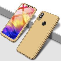 Capa Case Proteção 360 Samsung Galaxy A20 - Dourado - Oem