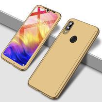 Capa Case Proteção 360 Samsung Galaxy A50 - Dourado - Oem